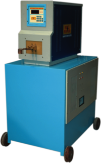 Portable H.F. Induction Heater with Chiller