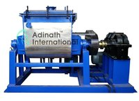 5-3000L Vacuum rubber kneader machine use for bubble gum, pigments, inks