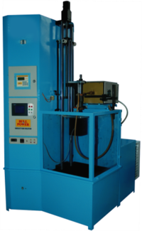 Induction Heating Machine With Vertical Scanner