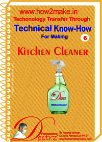 Kitchen cleaner Technical knowHow report
