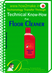 Floor Cleaner of technical knowHow report