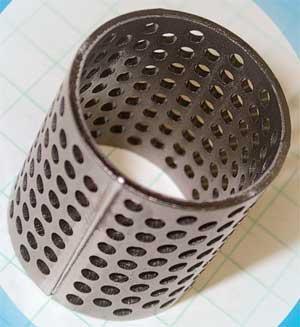 Hollow cylinder Laser Welding