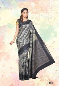 silk saree - 550