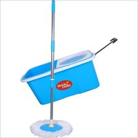 Steel and Plastic Spin Bucket Mop