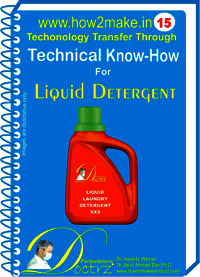 Liquid Detergent Technical knowHow report