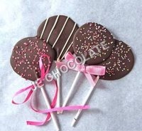 CHOCOLATE LOLLIPOP WITH SPRINKEL