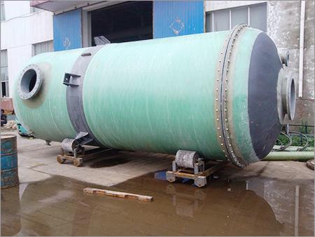 PVC Lined GRP Storage Tanks
