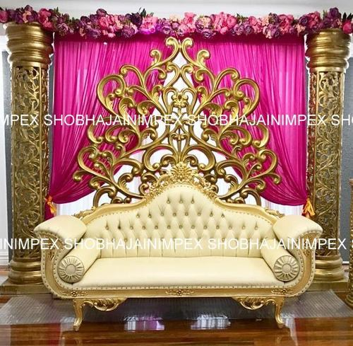 Quilted Wedding Sofa