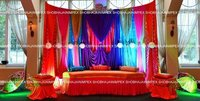 Colourful Drapes