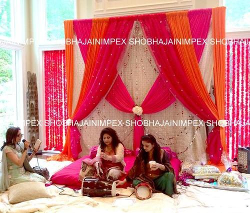 Drapes Decoration for Wedding