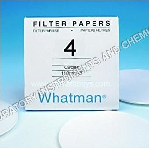 Whatman Filter Paper No. 4, 110mm