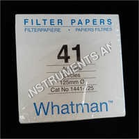 Whatman Filter Paper No 1441-125
