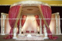 Embroidered Wedding Drapes for Mandap