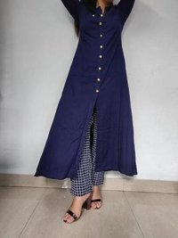 Ladies Cotton Straight Kurti