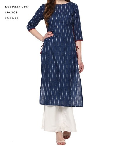Ladies Cotton Trendy Kurtis