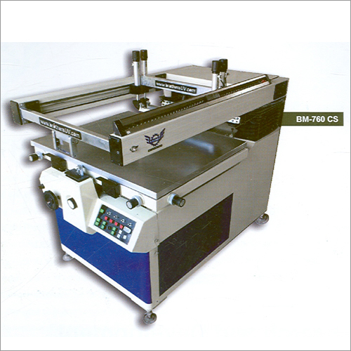 CAM-SHELL Semi Automatic Screen Printing Machine