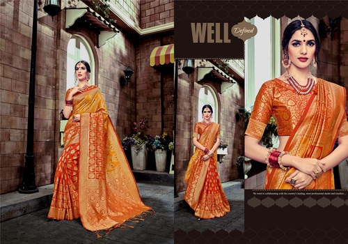 Traditional Wear Heavy Banarasi Silk saree