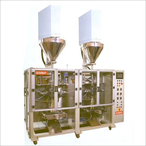 Double Head Collar Type Packing Machine