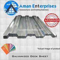 Galvanized Deck Sheet