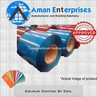 Colour Coated GI Coil