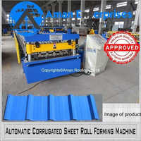 Automatic Corrugated Sheet Roll Forming Machine