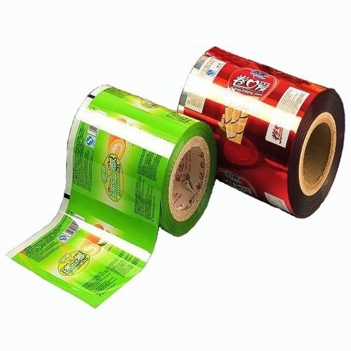 Printed Laminated Film Rolls