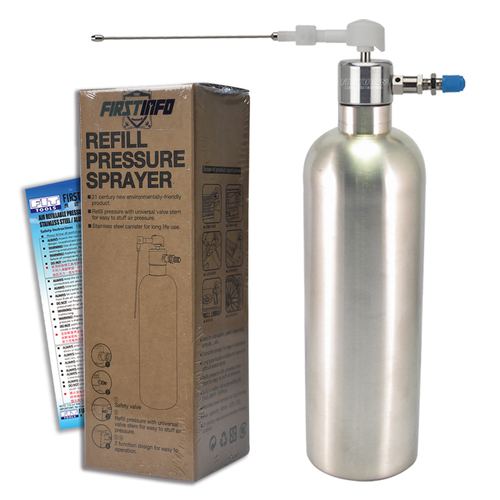 FIT TOOLS Stainless Steel Can Air / Pneumatic Refill Pressure Spraye
