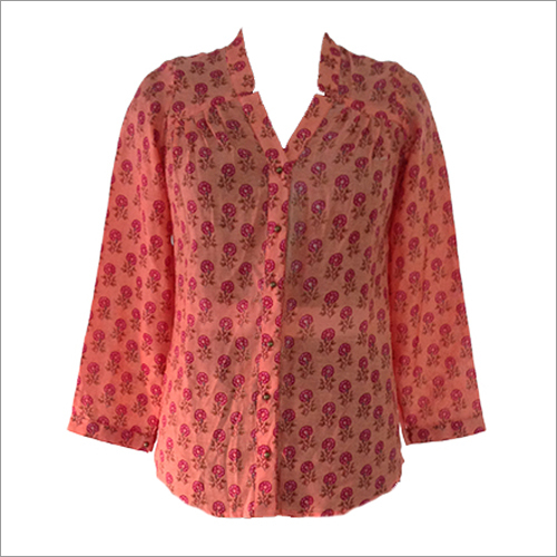 Chanderi Printed Top