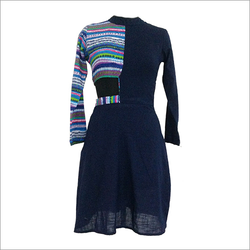 Printed Indowestern Dress