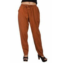 Cotton Plain Casual Wear Trouser