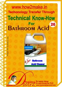 Bathroom Acid Technical knowhow