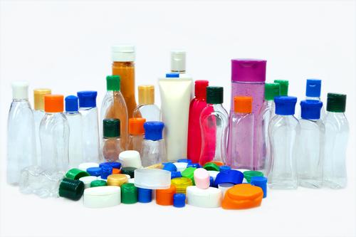 Cosmetic Bottles Plastic Flip Top Caps
