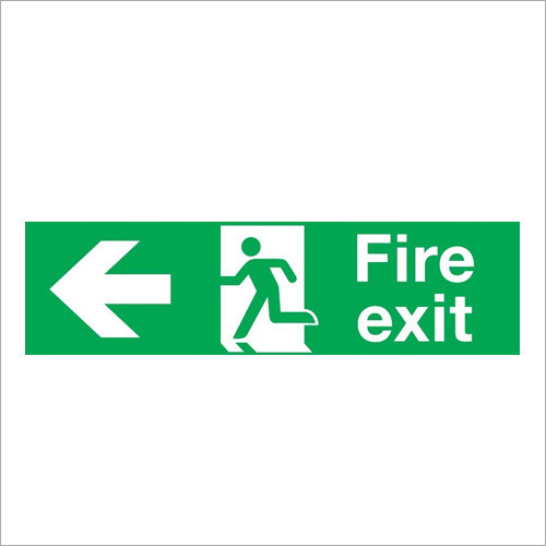 Photoluminescent Fire Exit Signage