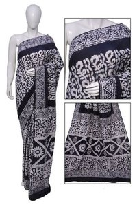 Black Printed Sarees