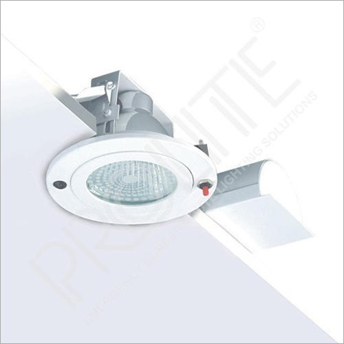 White Recessed Spotlight