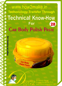 Car body polish paste Technical knowHow report