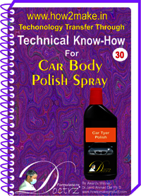 Car Body Polish Spray Technical knowHow Report