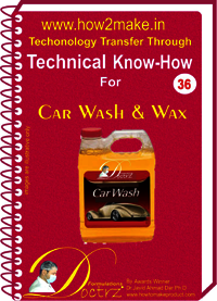 Car Wash & Wax Technical knowHow report
