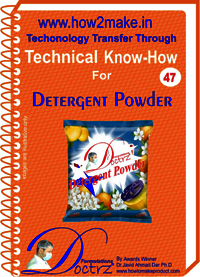 Detergent Powder Making Technical knowHow report