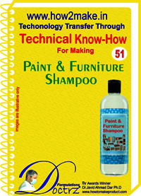 Paint and Furniture Shampoo Technical knowHow report