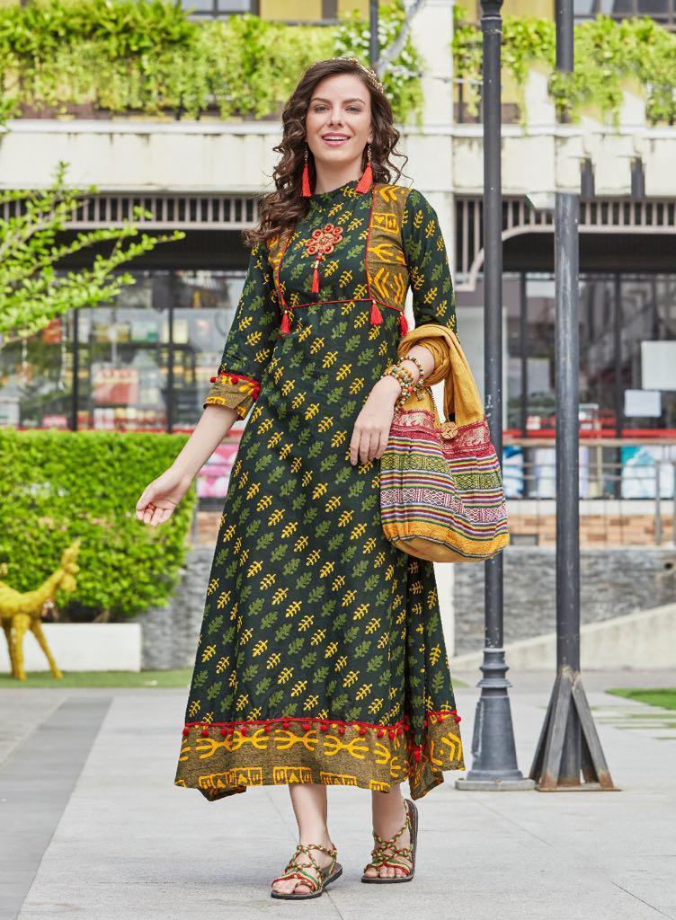 kajal style kurti moza vol 2 cataloglawn cotton