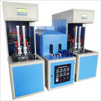 4 cavity semi automatic blow moulding machine
