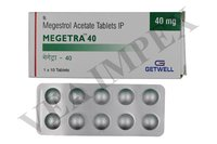 Megetra 40 mg Tablets
