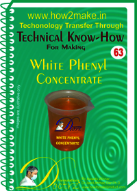 White Phenyl Concentrate Technical knowHow