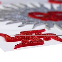 Craft Villa  A3 Card Om Glitter Sticker
