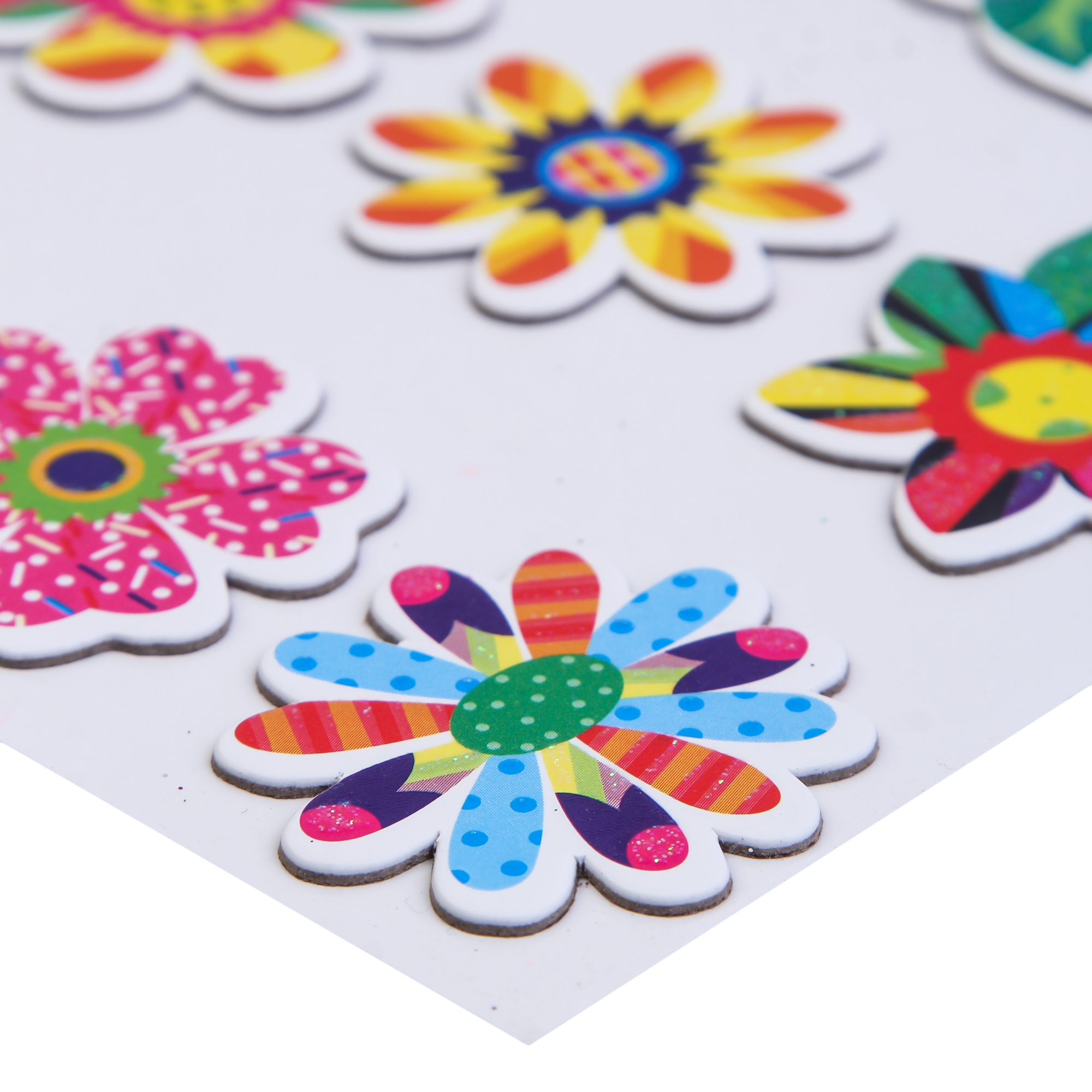 Craft Villa Handmade Flower Card Board Sticker