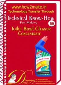 Toilet Bowl Concentrate Technical knowHow Report