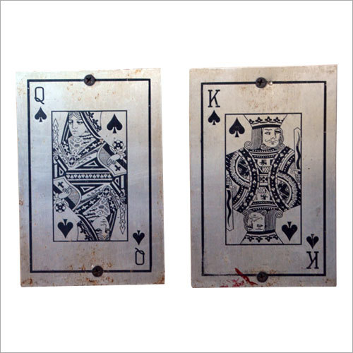 Stainless Steel Playing Card