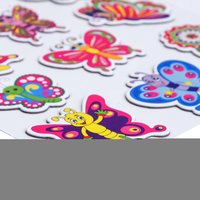 Craft Villa Handmade Butterfly Card Board Sticker