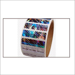 Roll Form Hologram Label